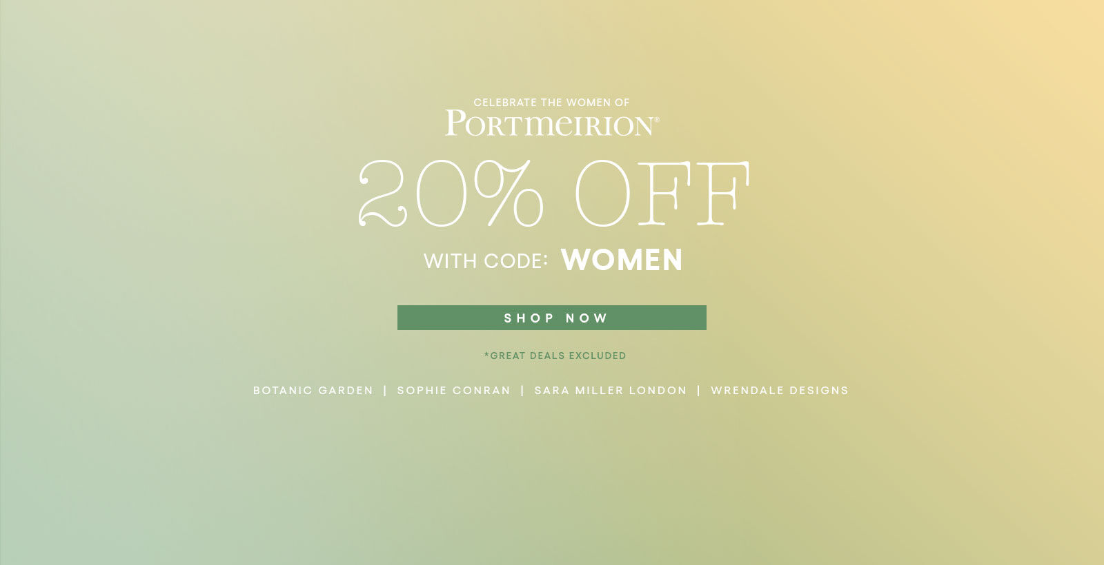 Women's History 20% off With code WOMEN