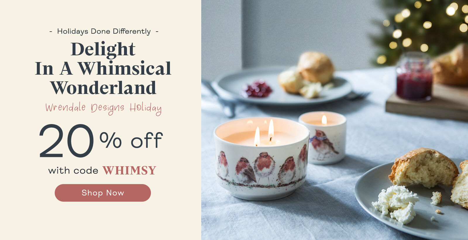 20% Off Wrendale Holiday