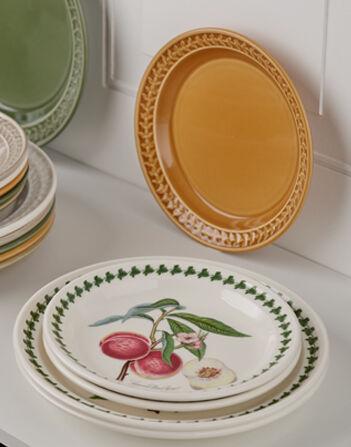 Portmeirion Pomona Set of 6  Dinner Plates Assorted Motifs