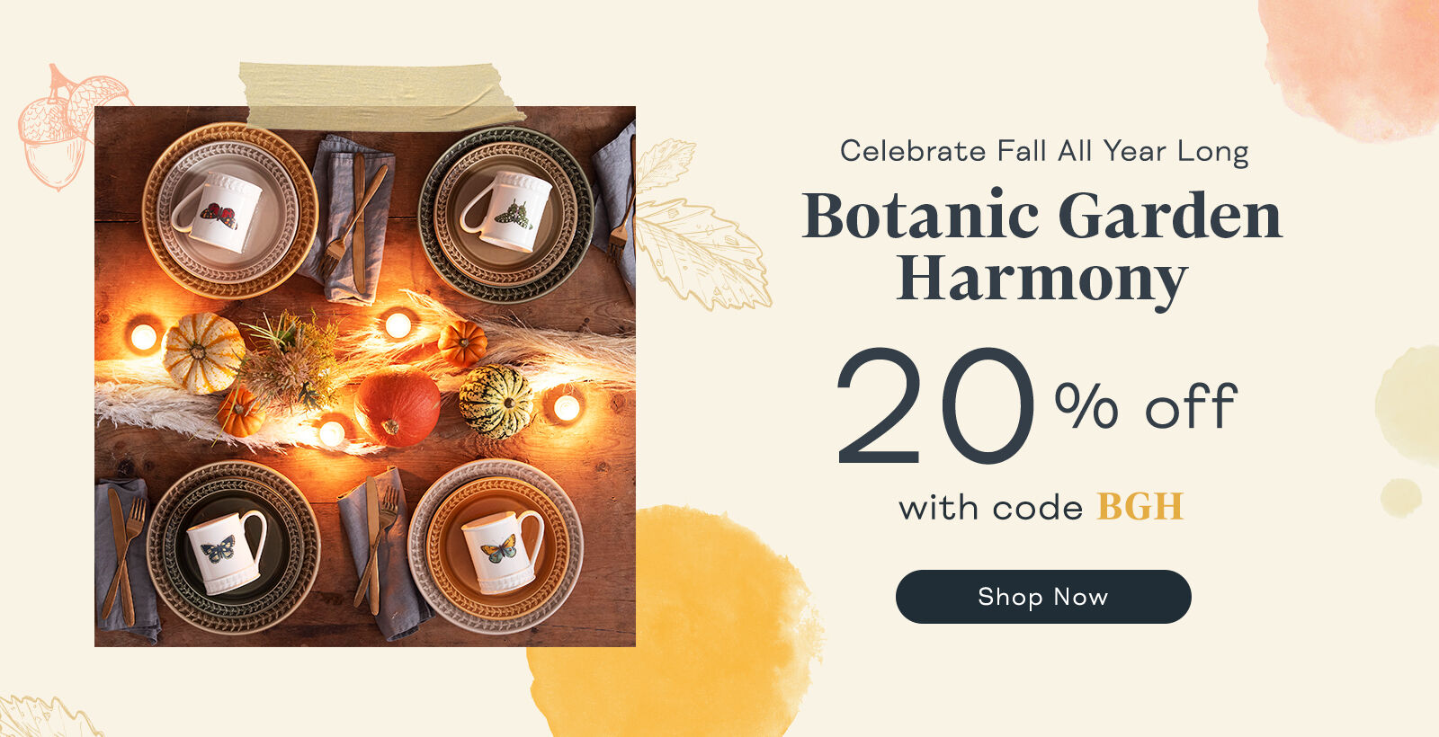 20% Off Botanic Garden Harmony with code BGH