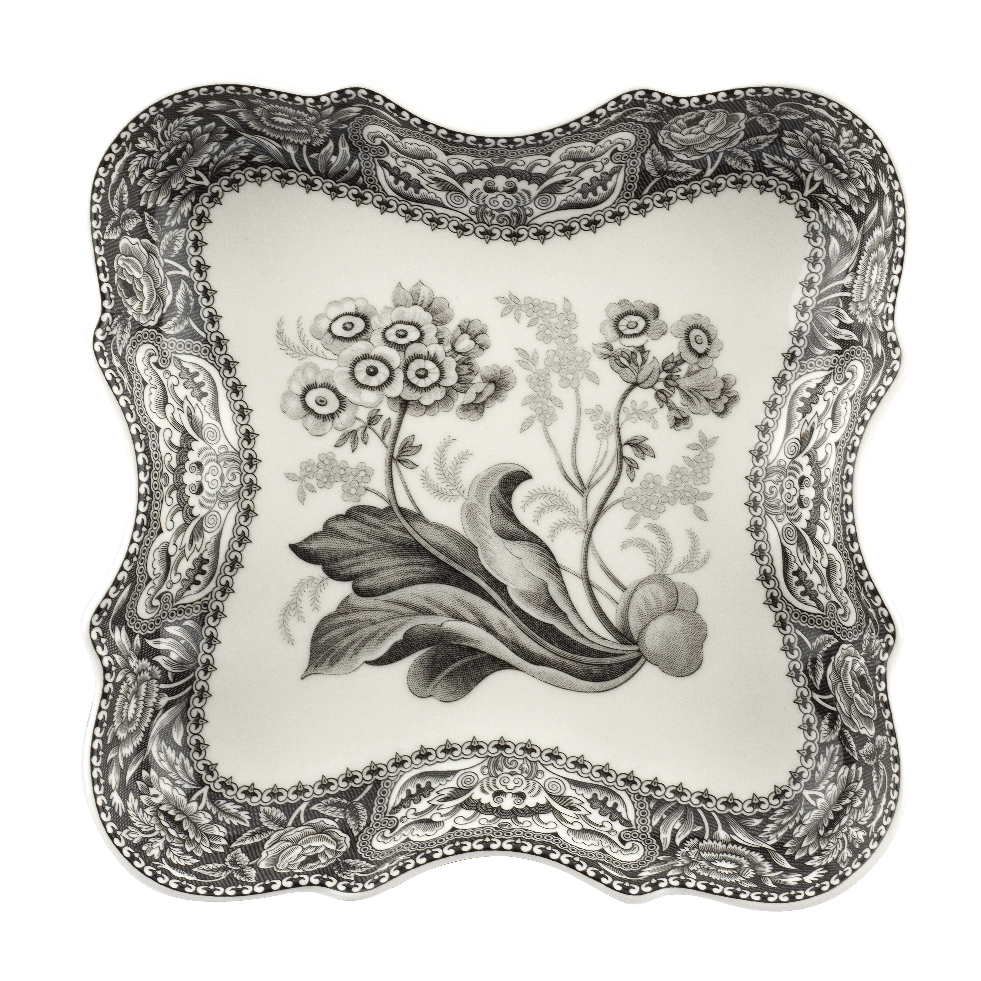 Spode Heritage 9.5 Inch Devonia Tray (Floral) image number 0