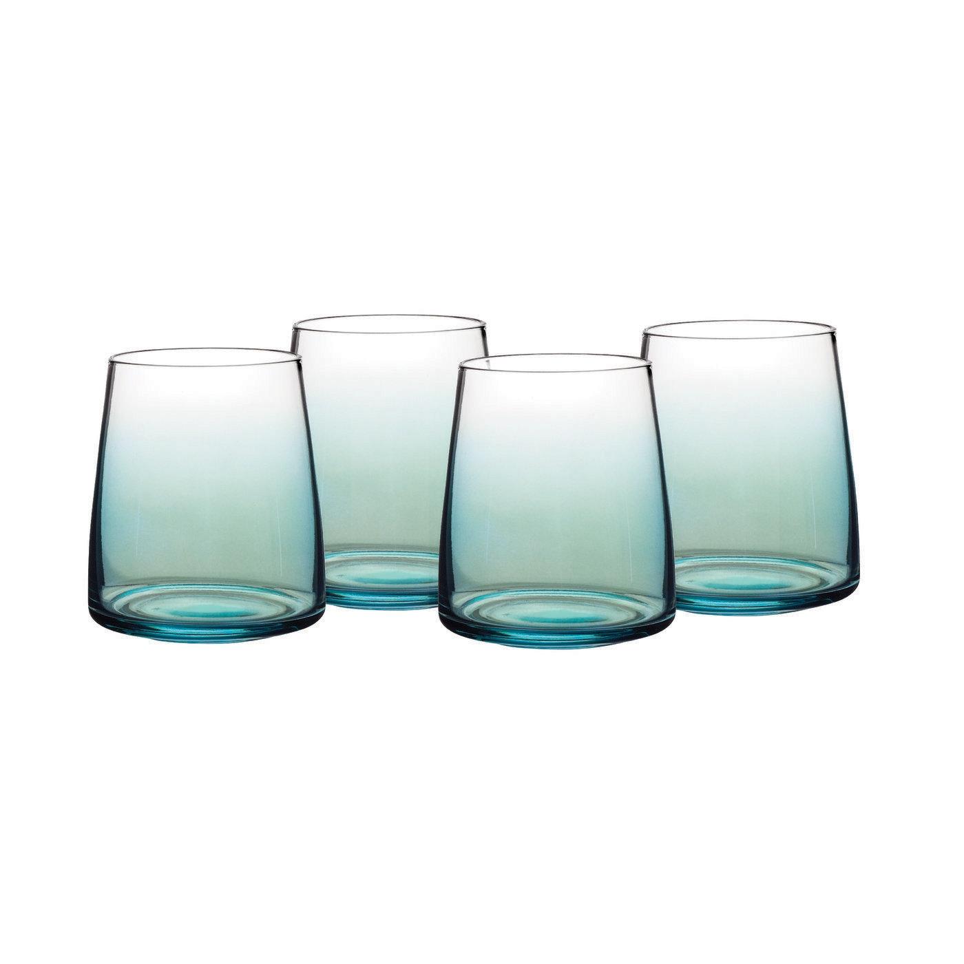 포트메리온 '아트리움' 와인잔 4개 세트 Portmeirion Atrium Stemless Wine Glass Set of 4