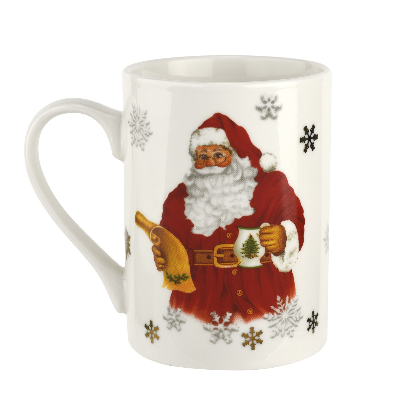 Pimpernel Christmas Tree 3 Piece Mug & Tray Set image number 2