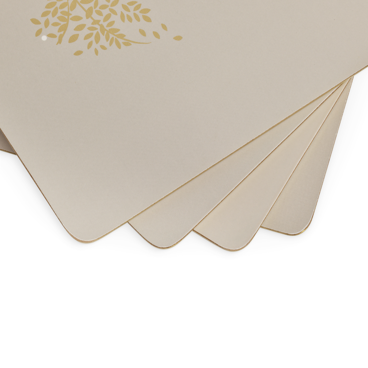 Sara Miller London for Pimpernel Chelsea Placemats Set of 4 Light Grey image number 2