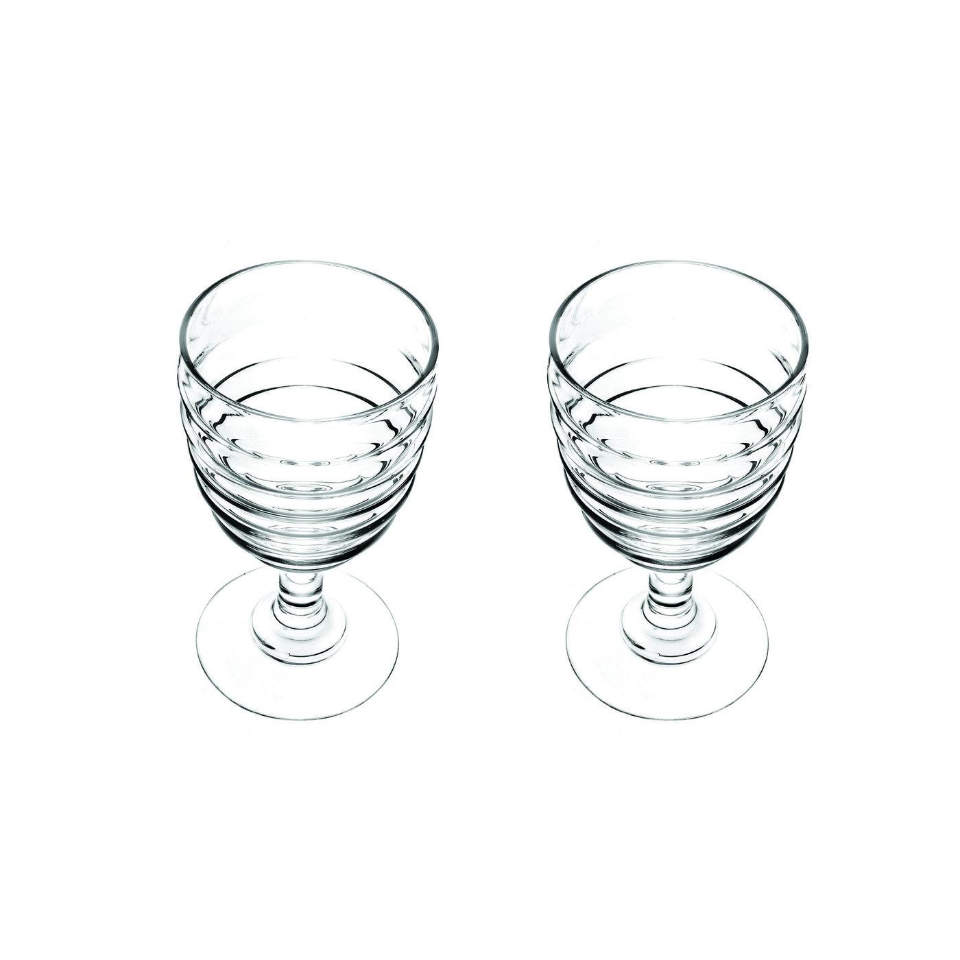 포트메리온 '소피 콘란' 와인잔 2개 세트 Portmeirion Sophie Conran Glassware Set of 2 Wines