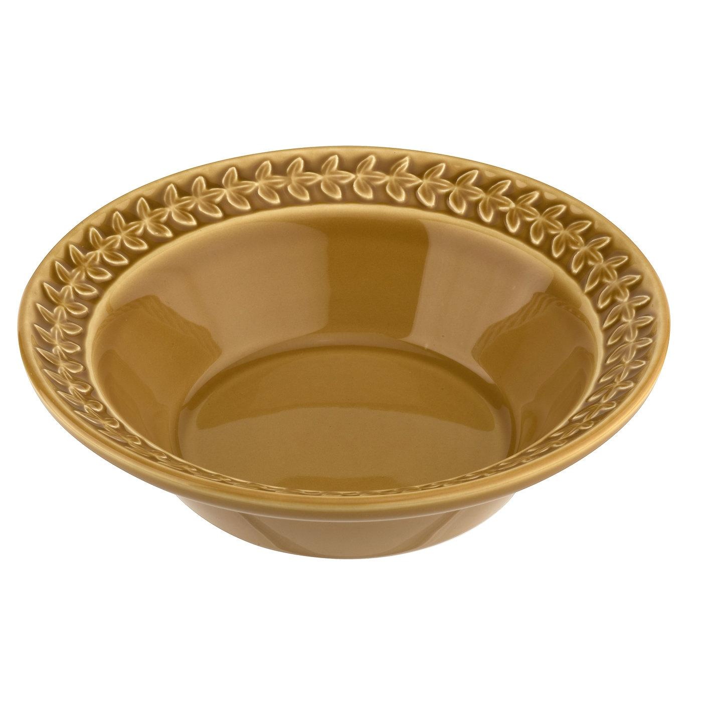 포트메리온 '보타닉 가든 하모니' 시리얼 볼 Portmeirion Botanic Garden Harmony Amber Cereal Bowl