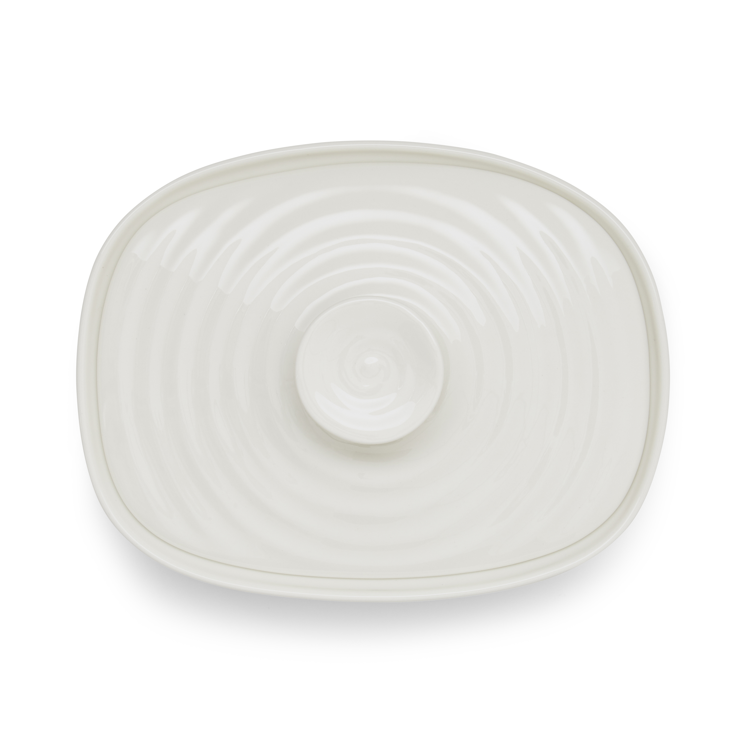 Portmeirion Sophie Conran White Covered Butter image number 2