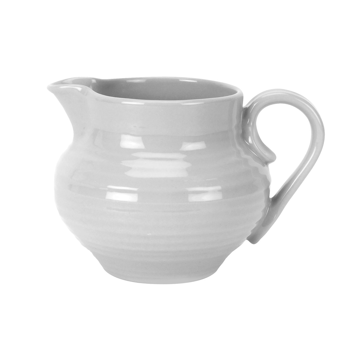 Portmeirion Sophie Conran Grey Cream Jug image number 0