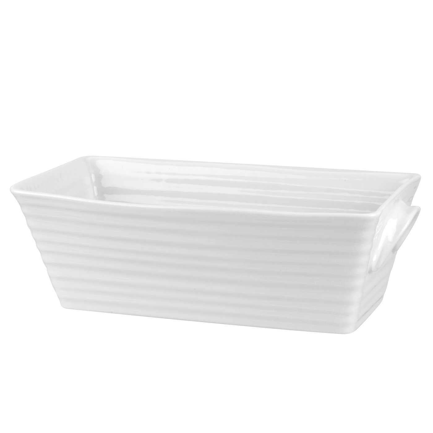 Portmeirion Sophie Conran for Portmeirion White Rectangular Baker image number 0