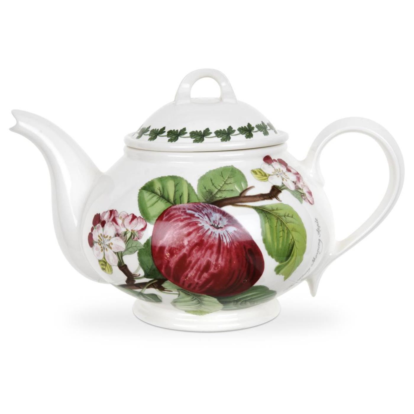 Portmeirion Pomona Teapot (Hoary Morning Apple) image number 0