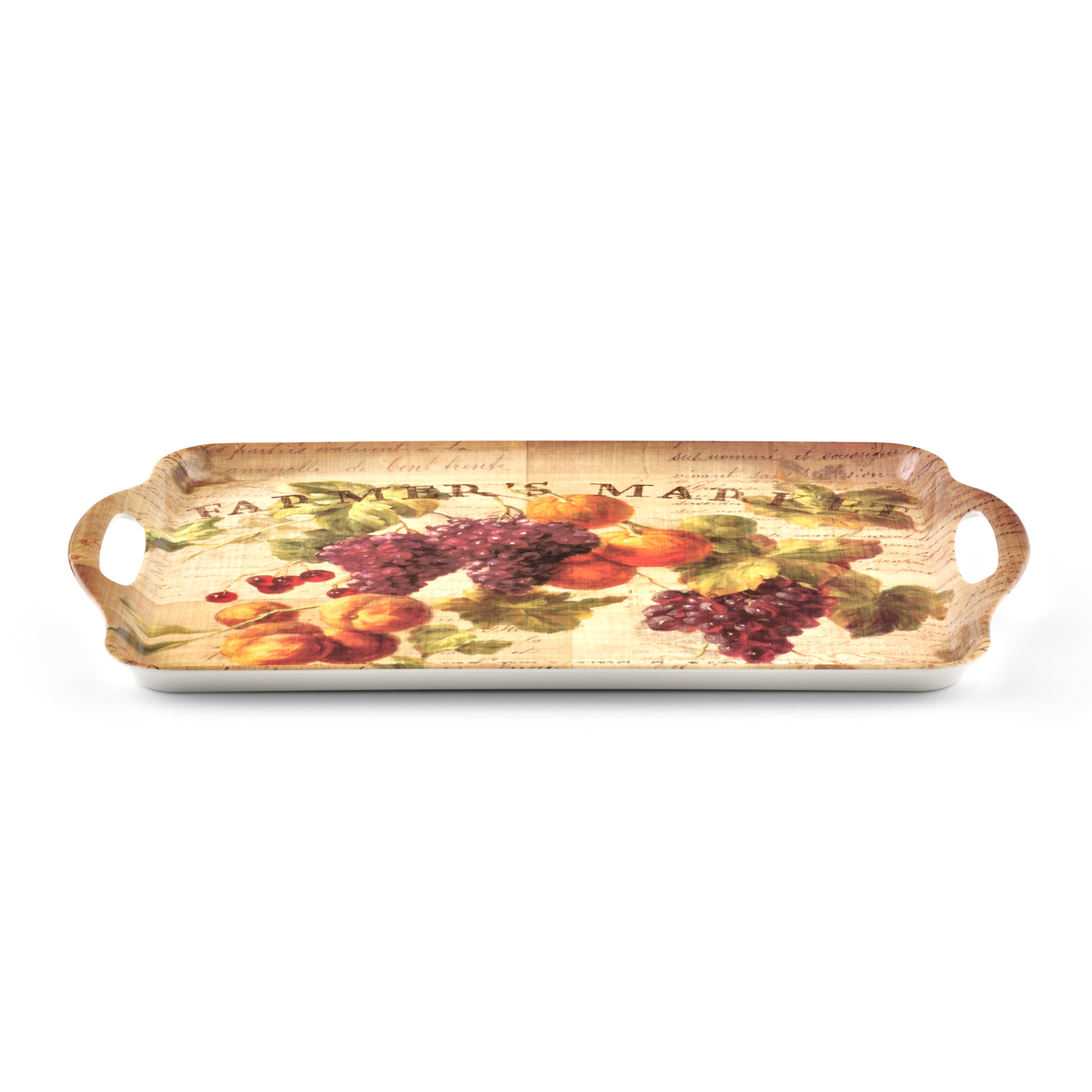 Pimpernel Abundant Fall Large Melamine Handled Tray image number 2