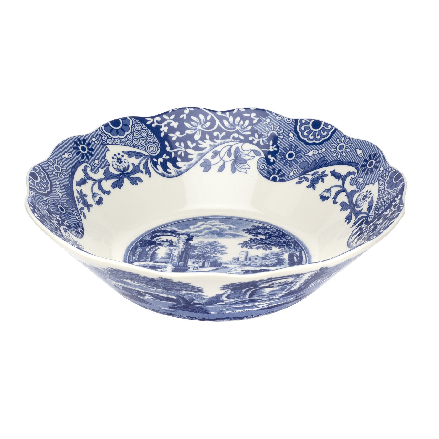 Spode Blue Italian 10 Inch Daisy Bowl image number 0
