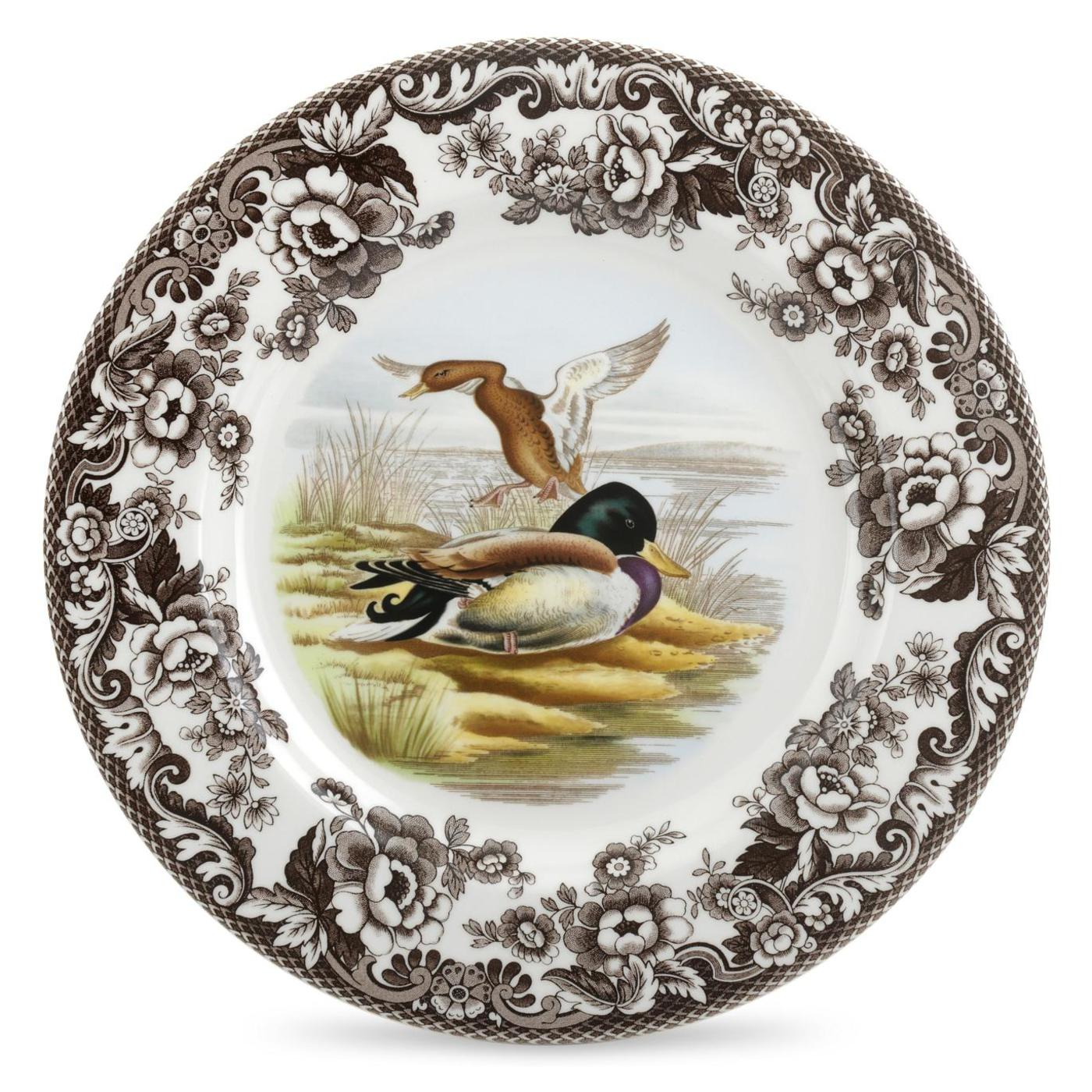 Spode Woodland Dinner Plate 10.5 Inch (Mallard) image number 0