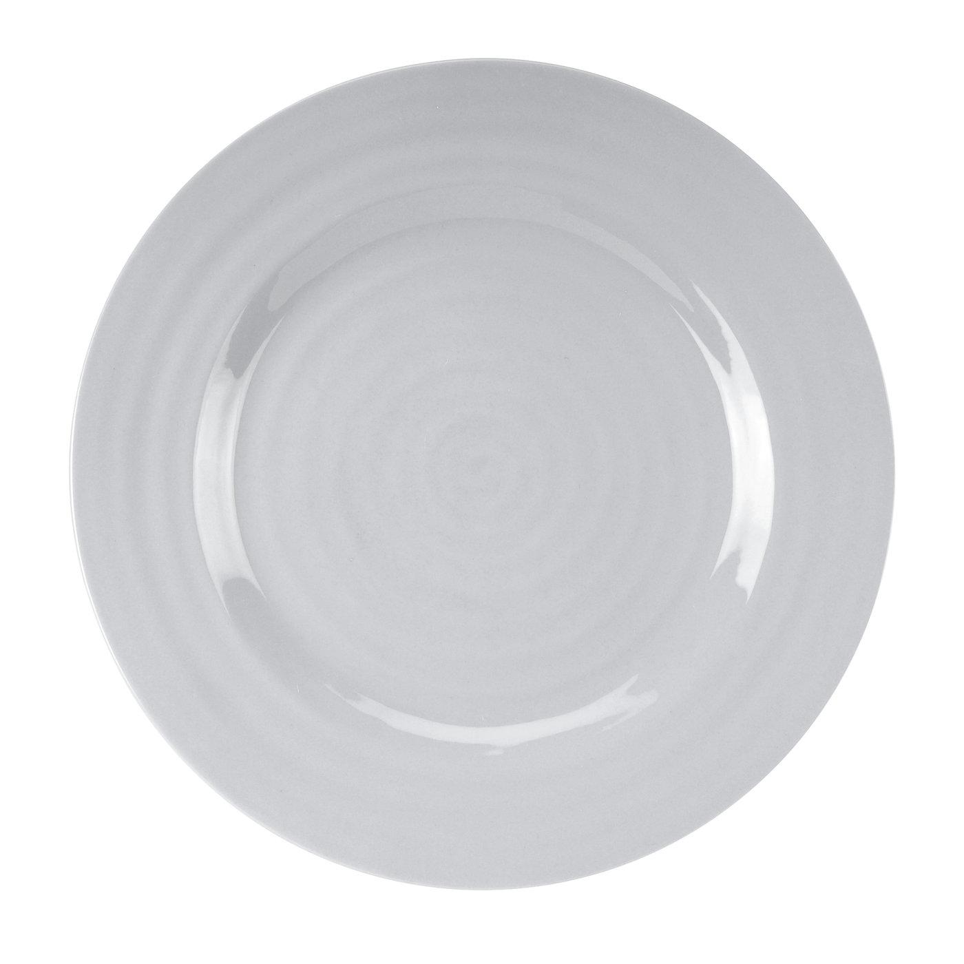 포트메리온 '소피 콘란' 디너 접시 4개 세트 Portmeirion Sophie Conran Grey Set of 4 Dinner Plates
