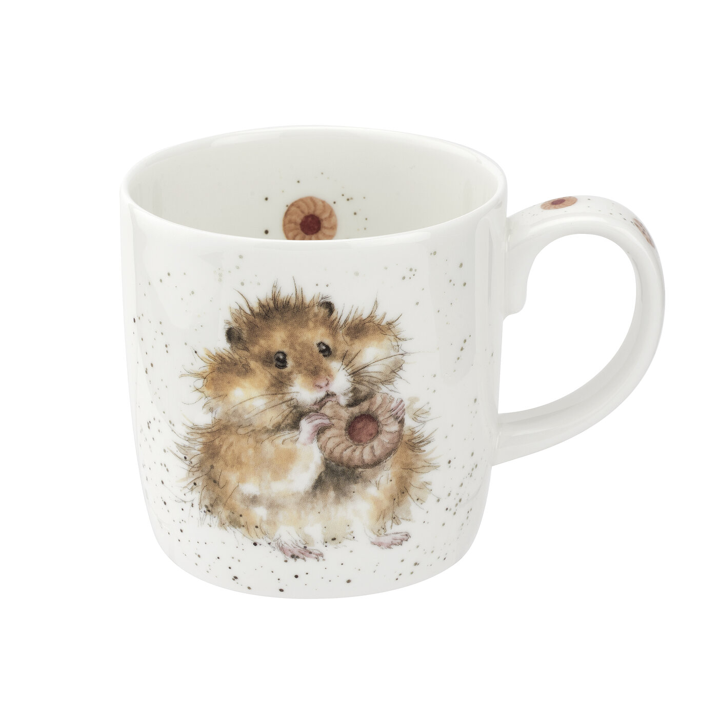 Wrendale Designs 14 Ounce Mug Diet Starts Tomorrow (Hamster) image number 0
