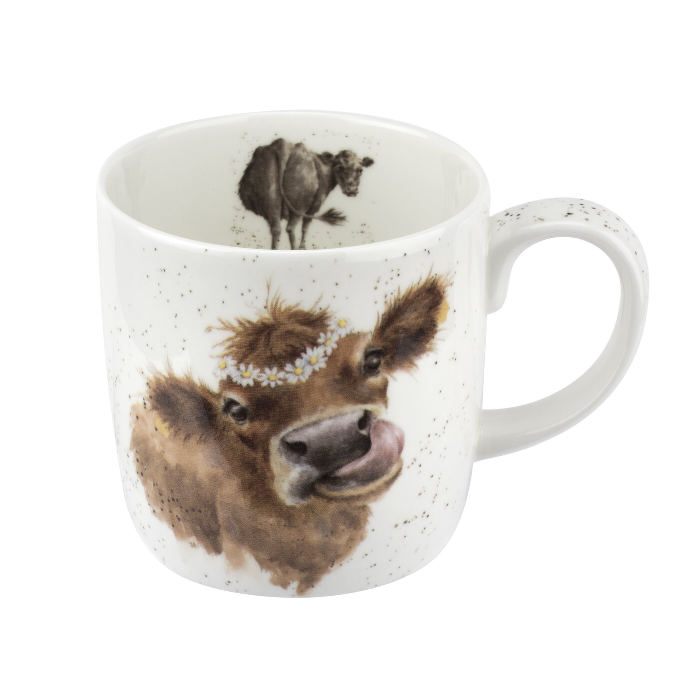 Wrendale Designs 14 Ounce Mug Mooo (Cow) image number 0