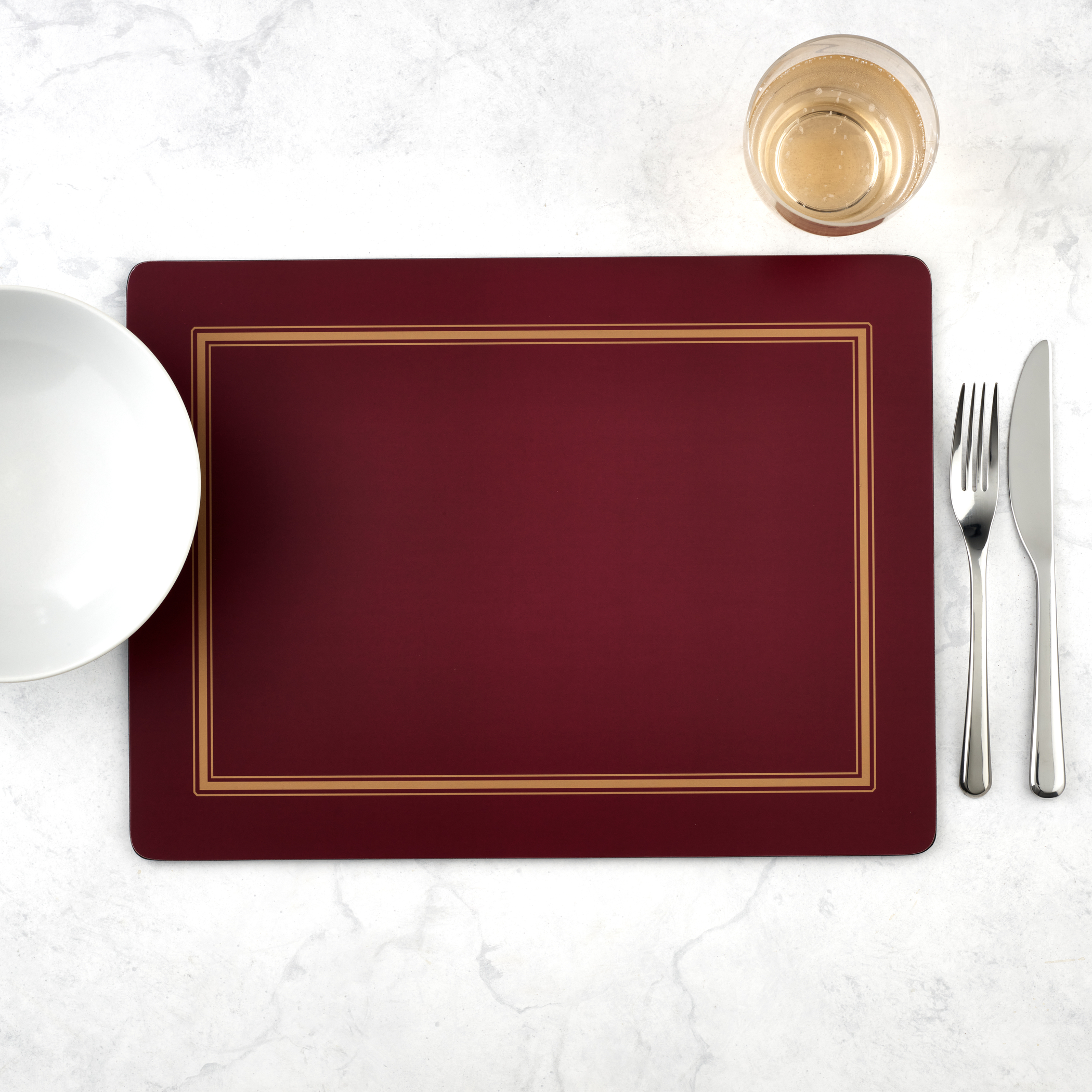 Pimpernel Classic Burgundy Placemats Set of 4 image number 5