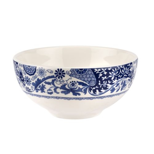 Spode Blue Italian Brocato 6.5 Inch Bowl image number 0
