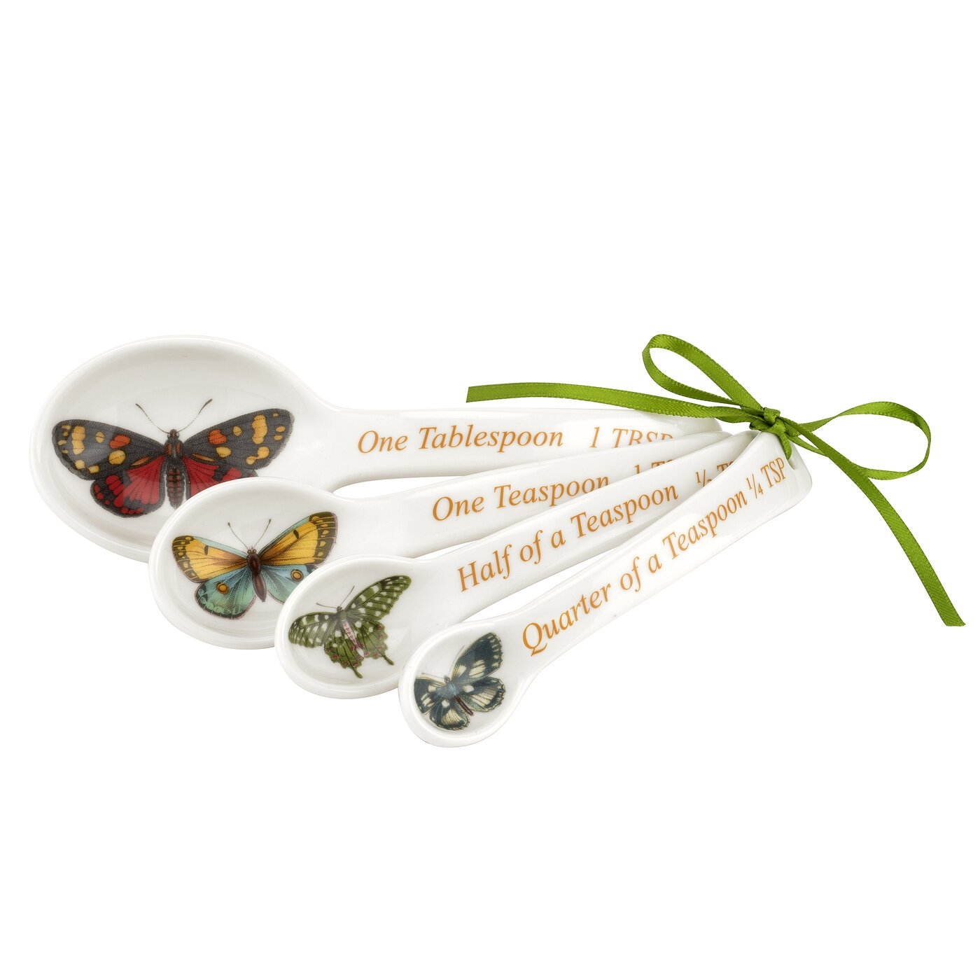 Portmeirion Botanic Garden Harmony Set of 4 Measuring Spoons image number 0