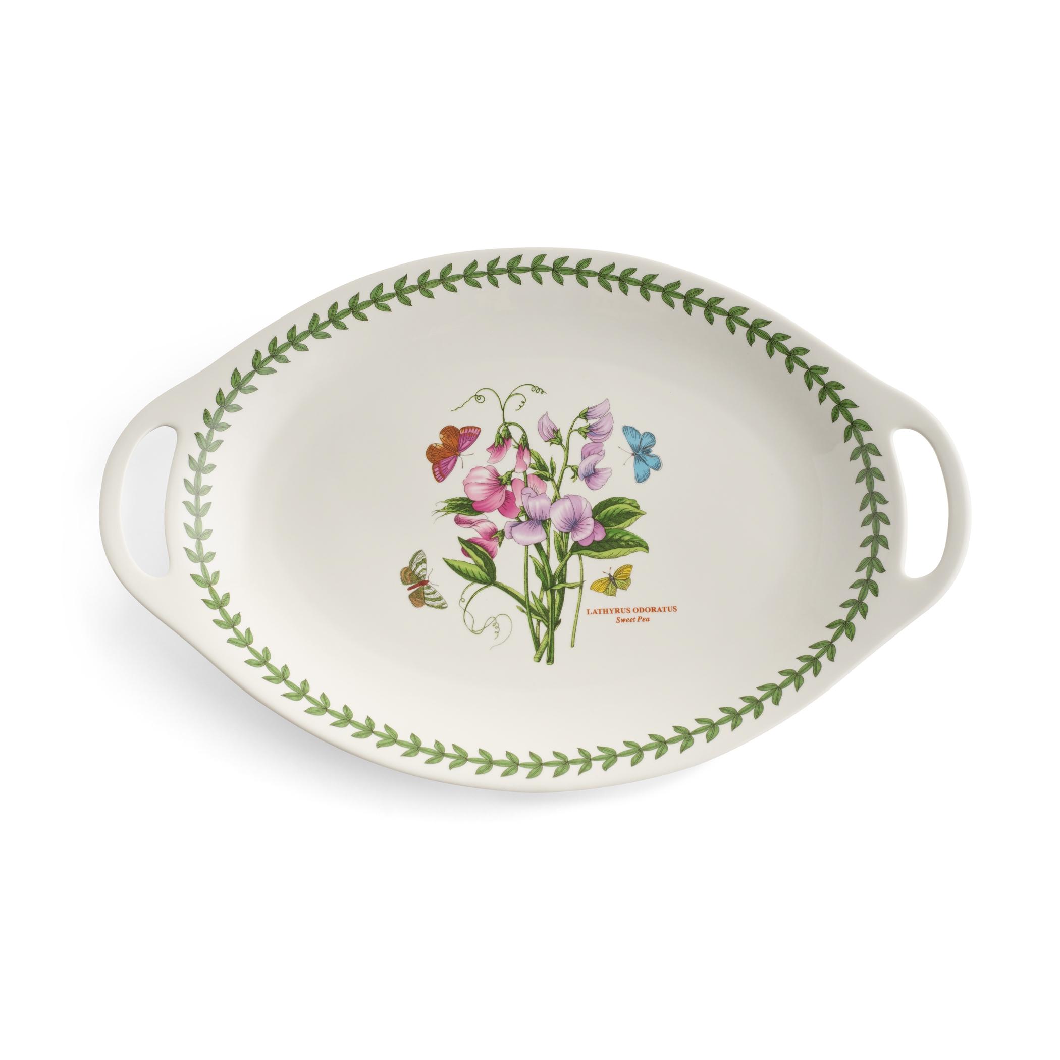Portmeirion Botanic Garden Oval Platter 28cm
