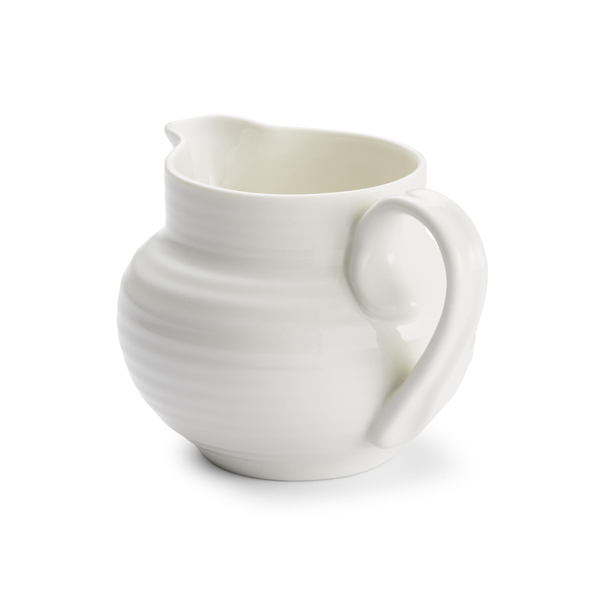Portmeirion Sophie Conran White Cream Jug Portmeirion