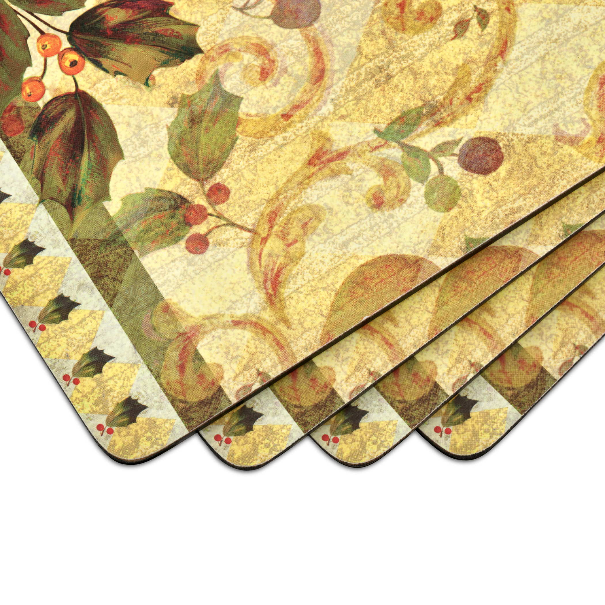 Pimpernel Golden Pineapple Placemats Set of 4 image number 2