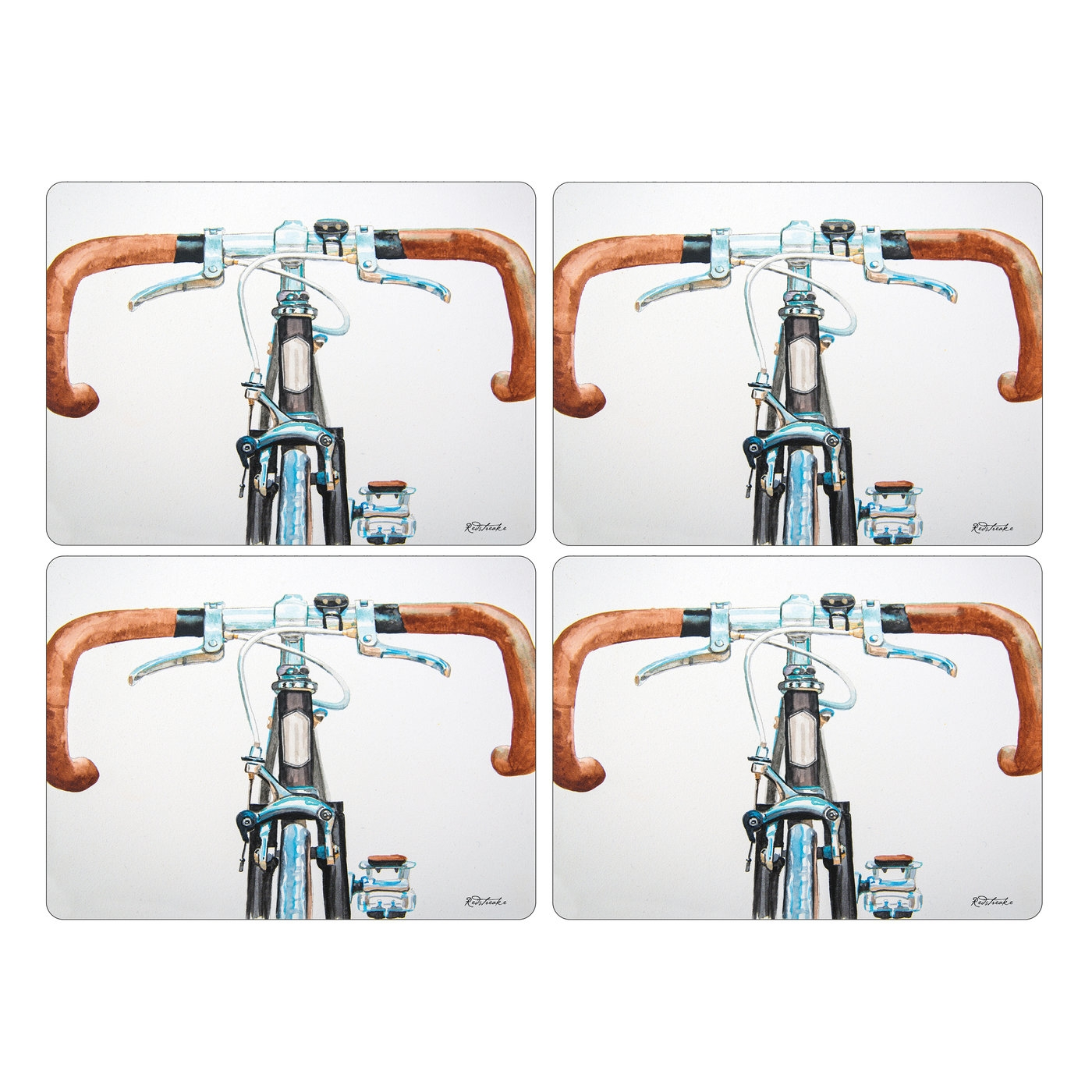 Pimpernel Bicycle Placemats Set of 4 image number 0
