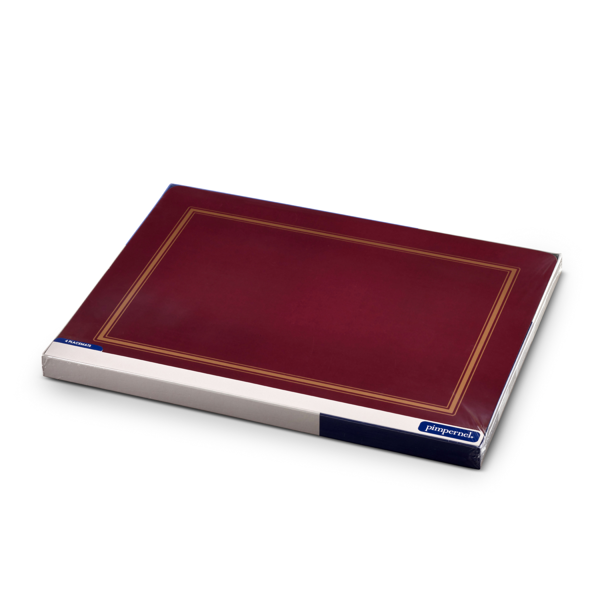 Pimpernel Classic Burgundy Placemats Set of 4 image number 4