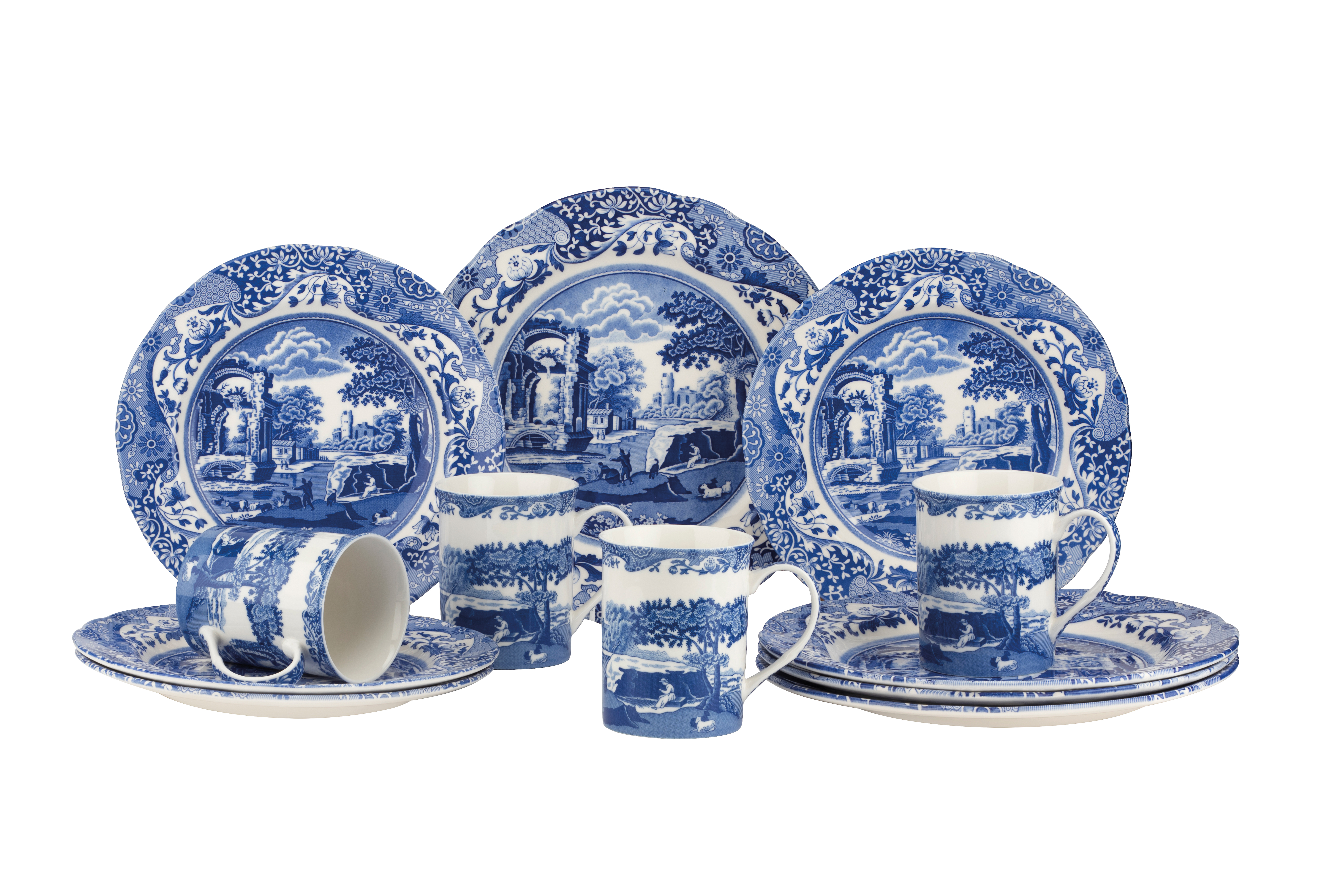 Spode Blue Italian 12 Piece Set (New for 2021) image number 0
