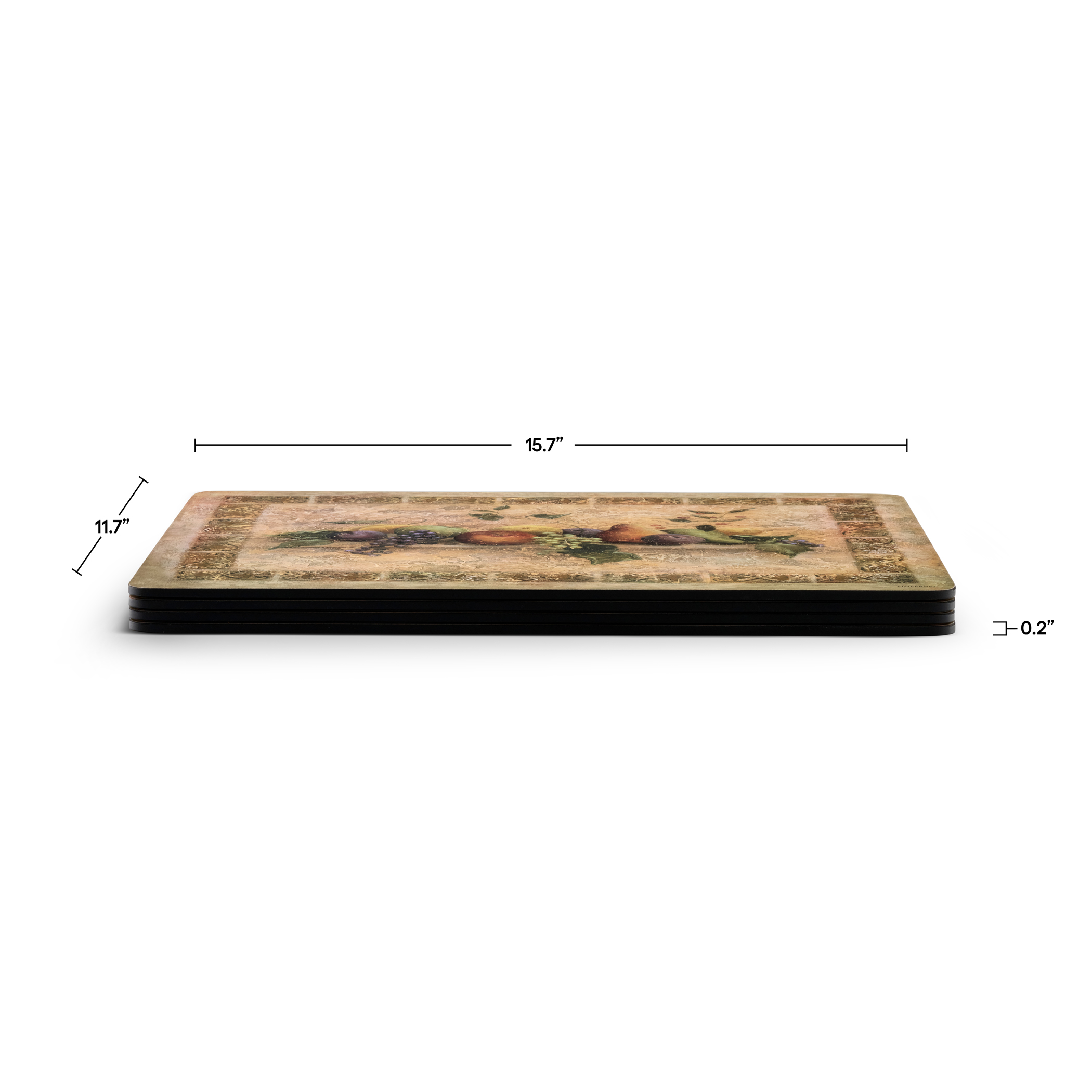 Pimpernel Tuscan Palette Placemats Set of 4 image number 3