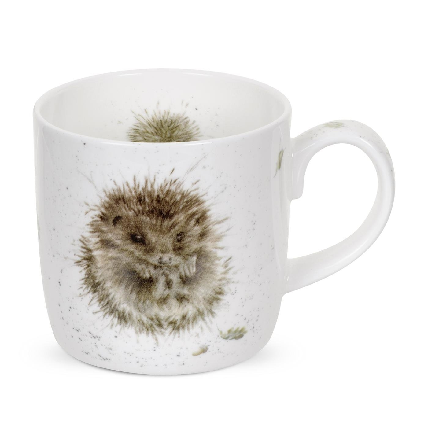 Royal Worcester Wrendale Designs MUG 14 OZ AWAKENING (HEDGEHOG) image number 0