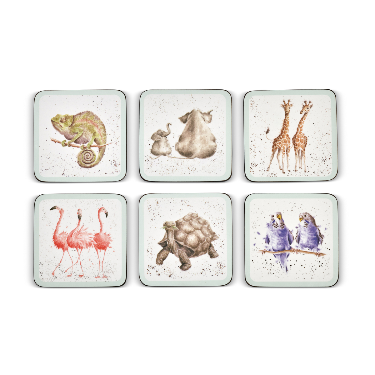 Pimpernel Wrendale Designs Coasters Set of 6 image number 2