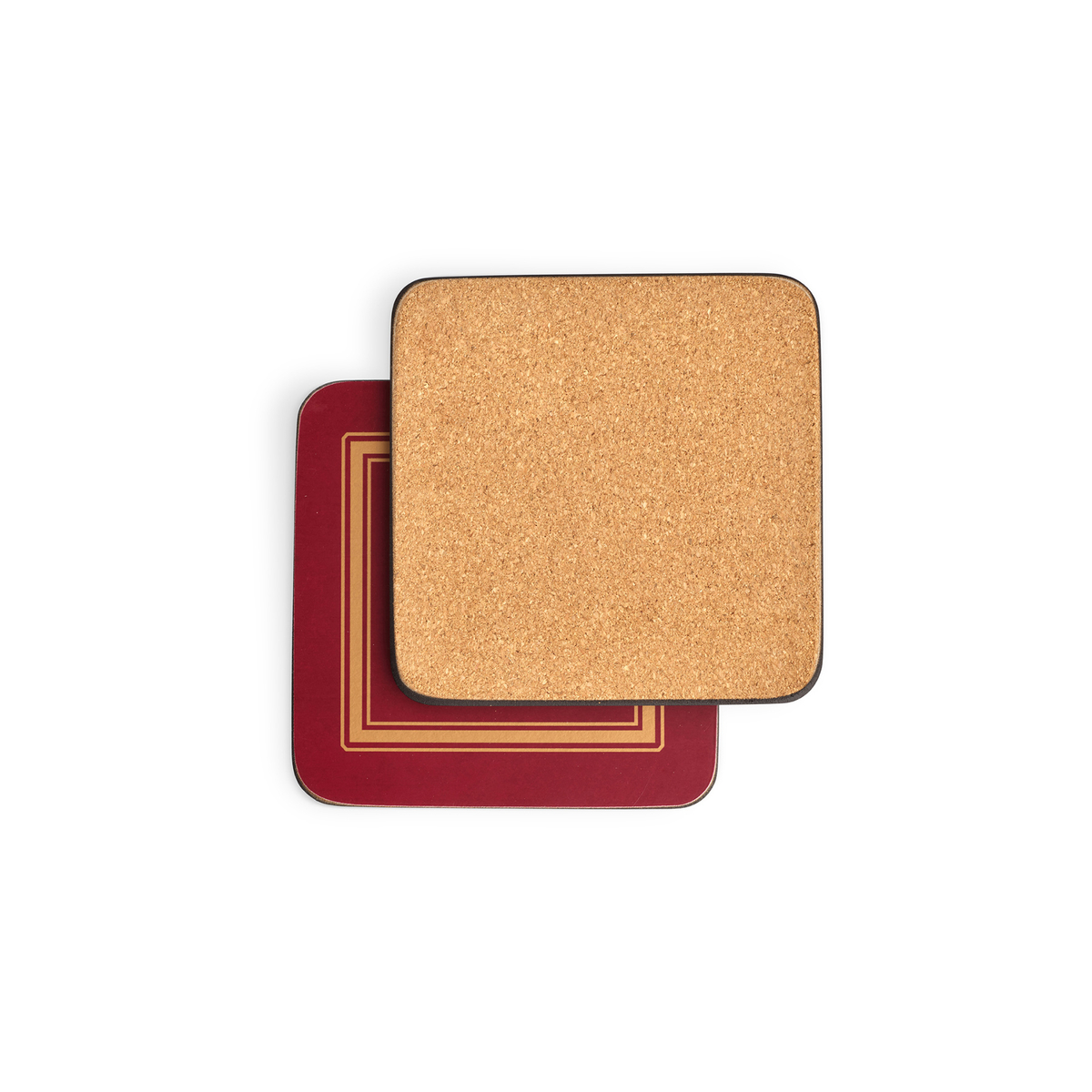 Pimpernel Classic Burgundy Coasters Set of 6 image number 1