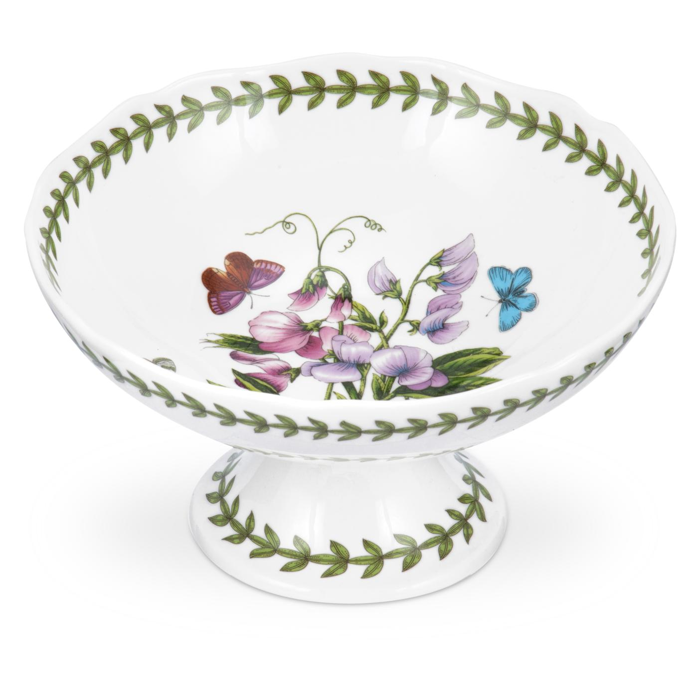 Portmeirion Botanic Garden Scalloped Edge Footed Bowl image number 0