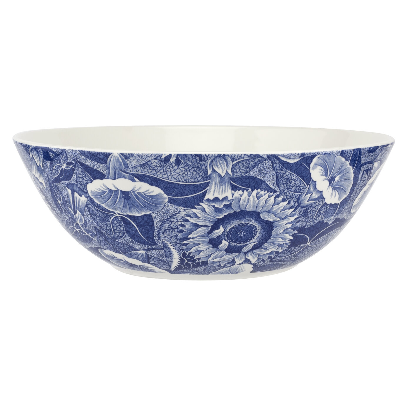 Spode Blue Room Sunflower 10.5 Inch Salad Bowl image number 0