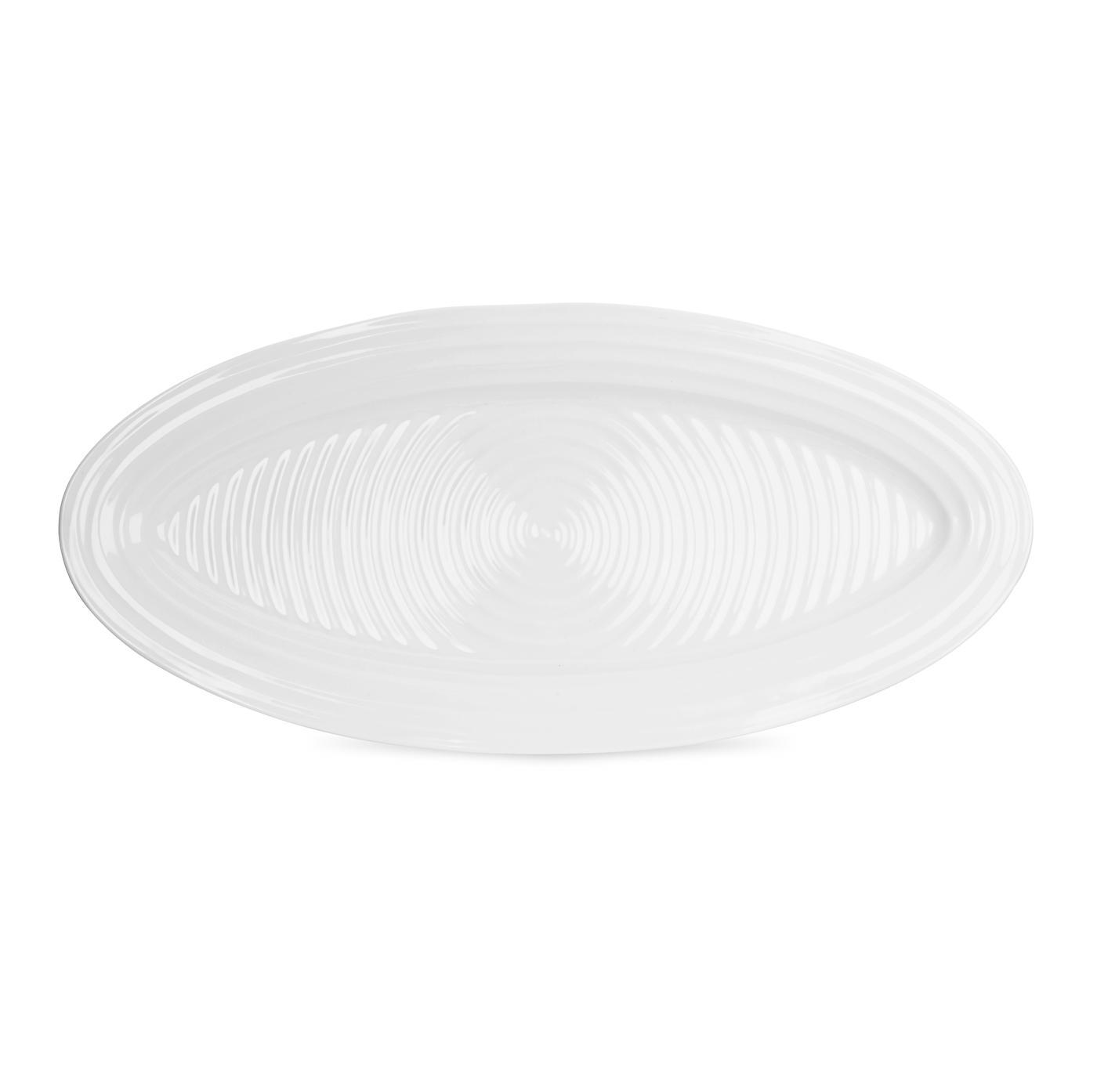 포트메리온 '소피 콘란' 피쉬 접시 Sophie Conran for Portmeirion White 21 Inch Fish Platter