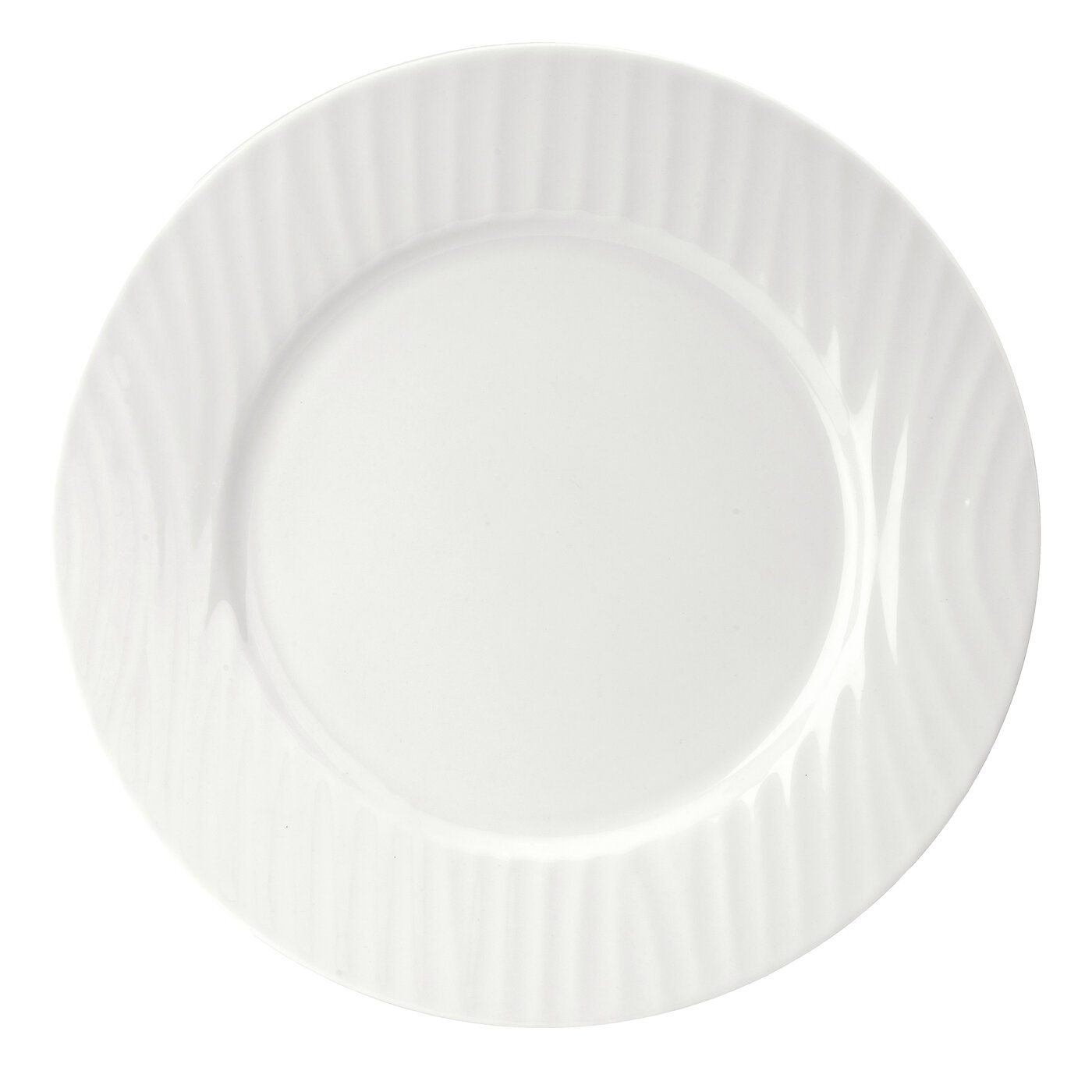 Sophie Conran for Portmeirion White Oak 8.5 Inch Rimmed Salad Plate image number 0