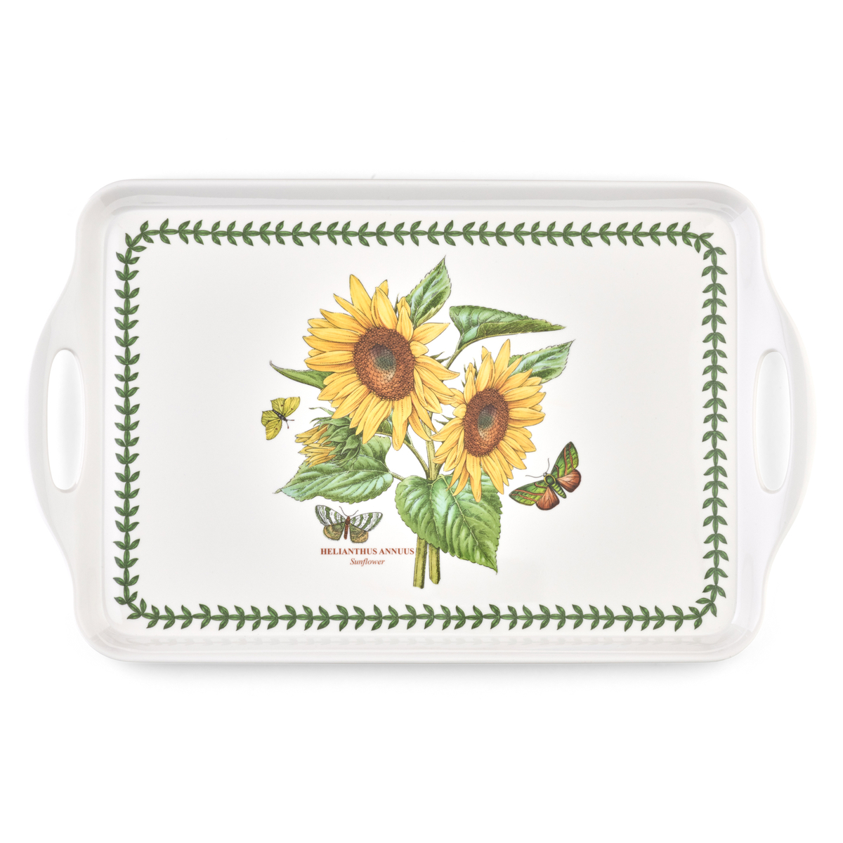 Pimpernel Botanic Garden Sunflower Large Melamine Handled Tray image number 0