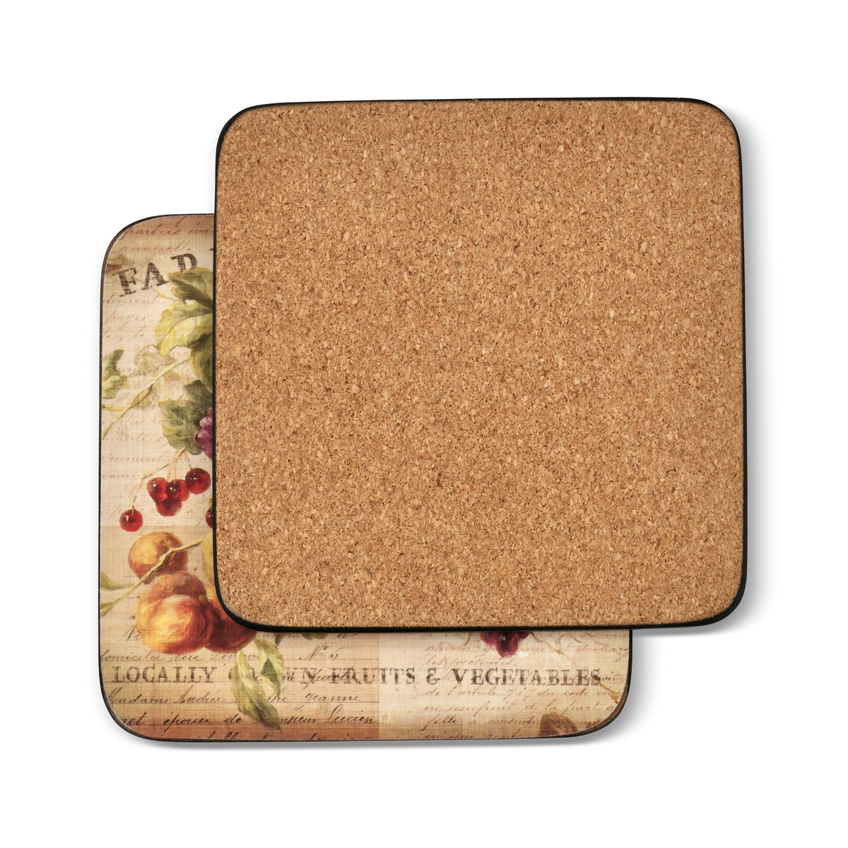 Pimpernel Abundant Fall Set of 6 Coasters image number 1