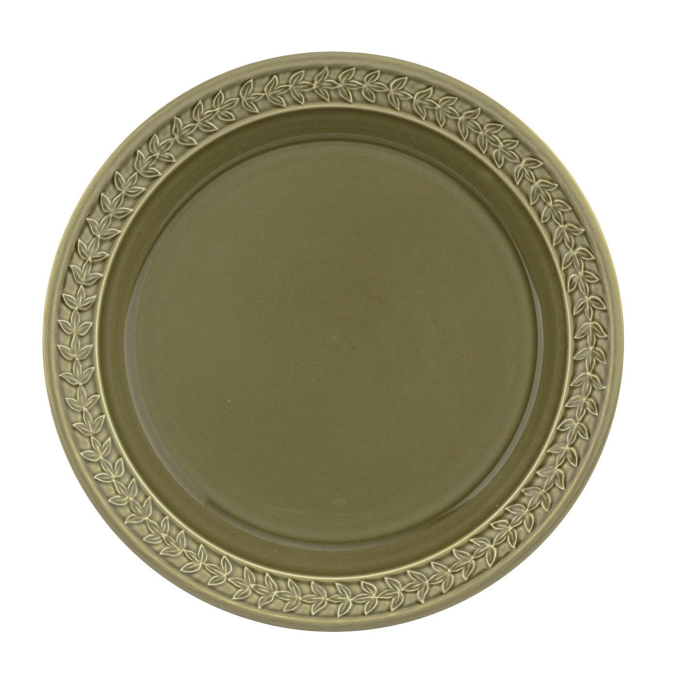 포트메리온 '보타닉 가든 하모니' 디너 접시 Portmeirion Botanic Garden Harmony Moss Green 10.5 Inch Dinner Plate