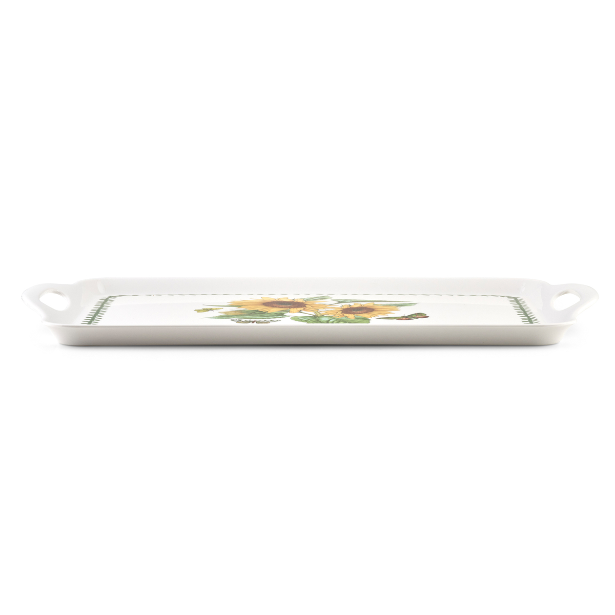 Pimpernel Botanic Garden Sunflower Large Melamine Handled Tray image number 2