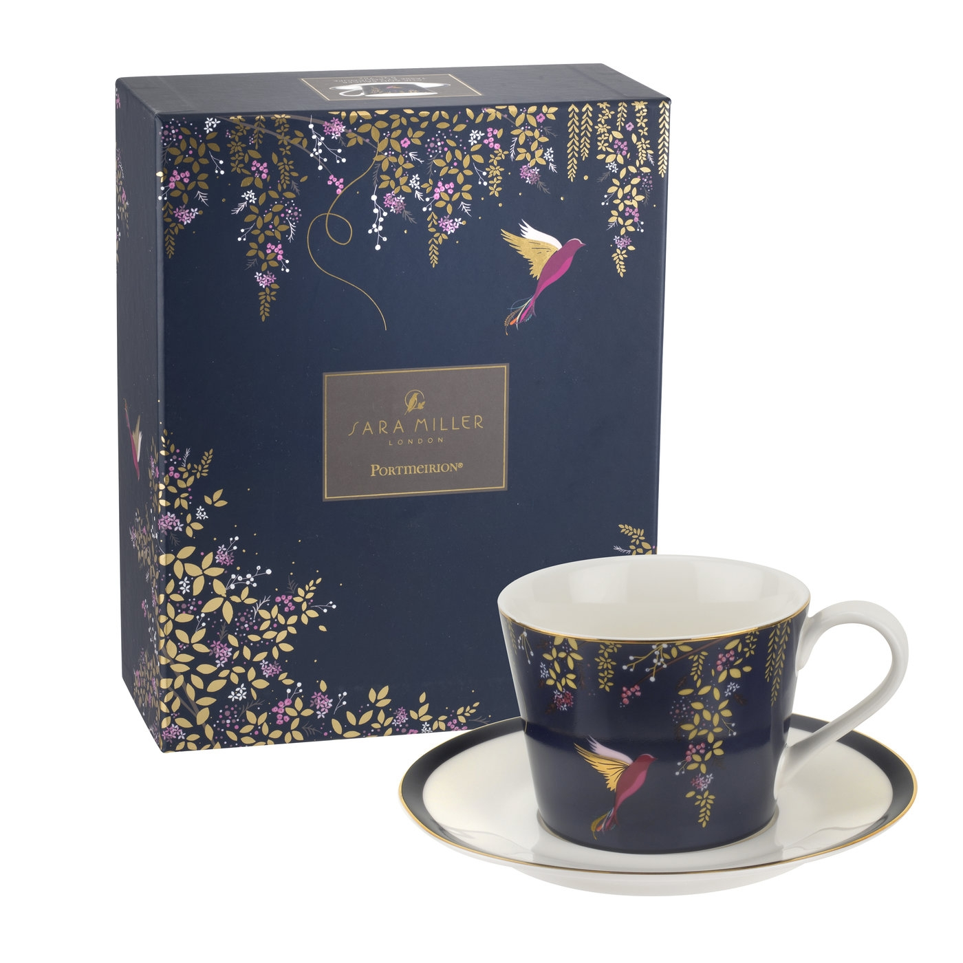 Sara Miller London for Portmeirion Chelsea Collection Tea Cup  image number 0