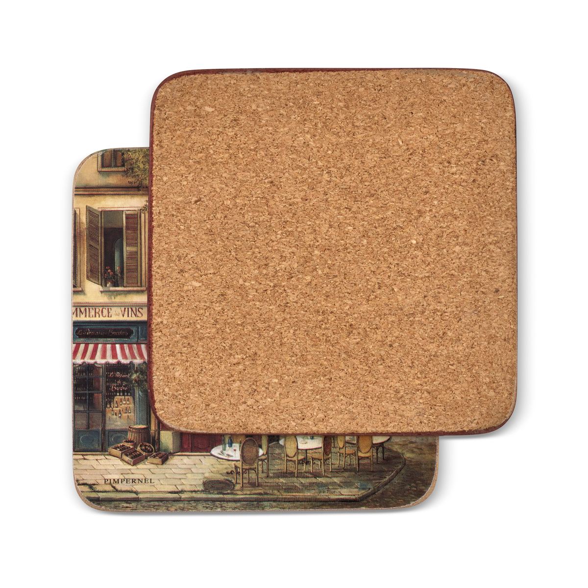 Pimpernel Parisian Scenes Coasters Set of 6 image number 1