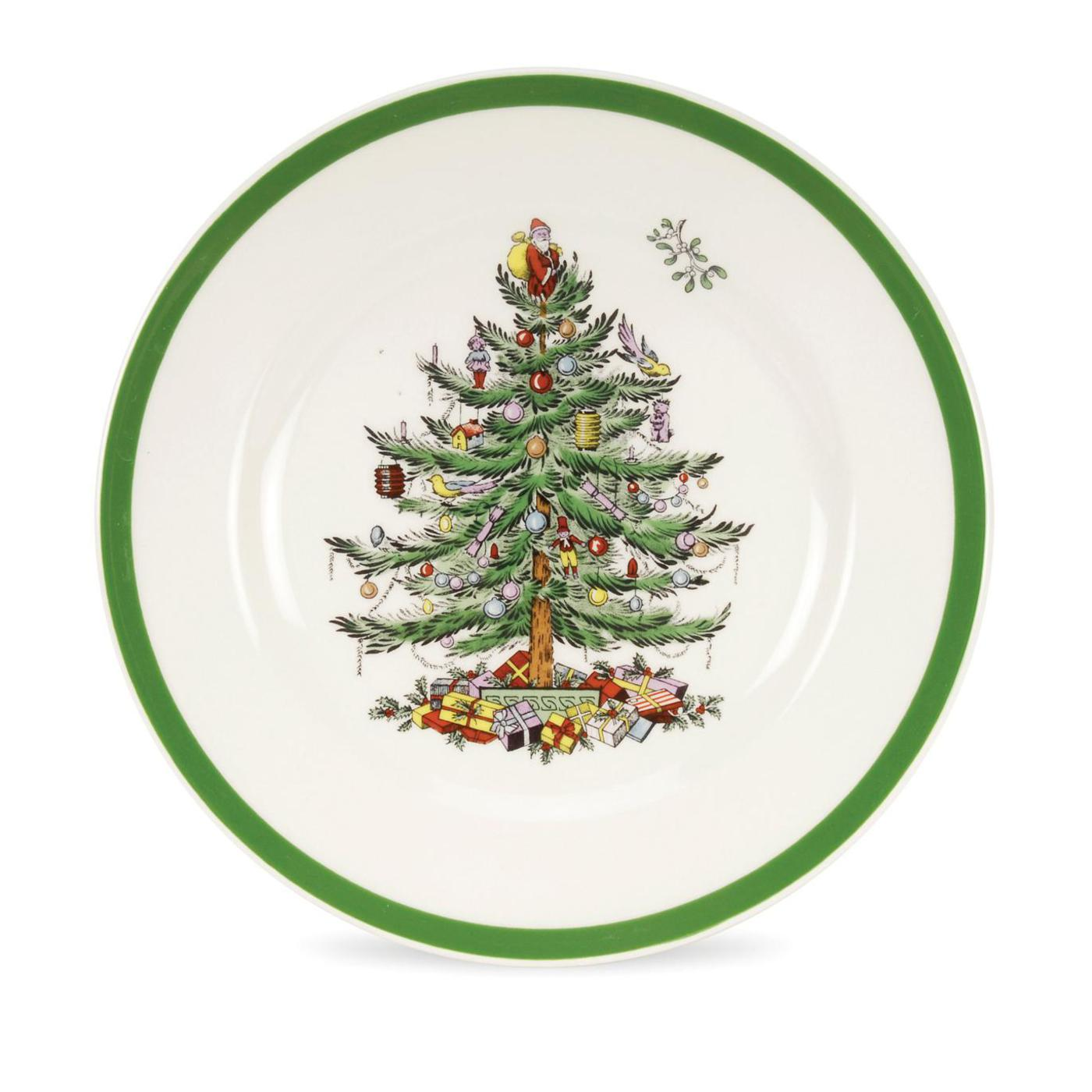 Spode Christmas Tree Set of 4 Salad Plates   image number 0