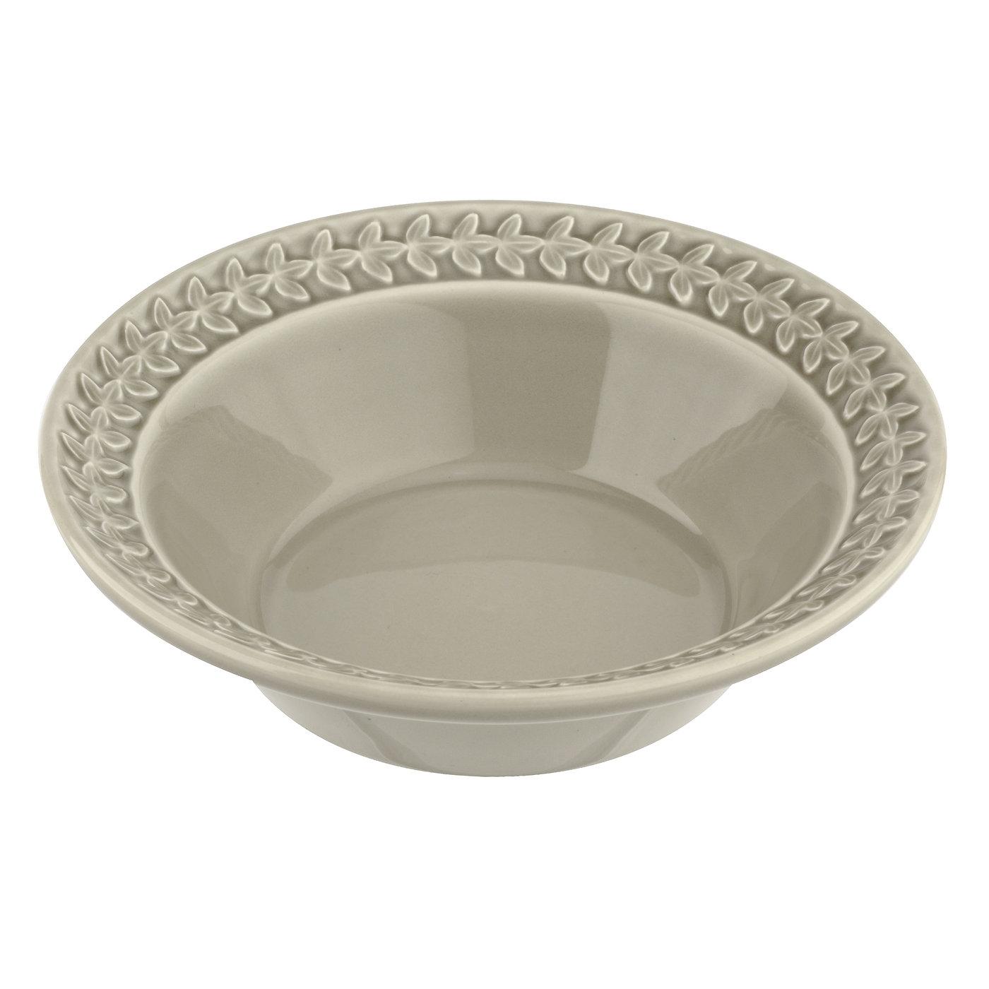 포트메리온 '보타닉 가든 하모니' 씨리얼 볼 접시 Portmeirion Botanic Garden Harmony Stone Cereal Bowl