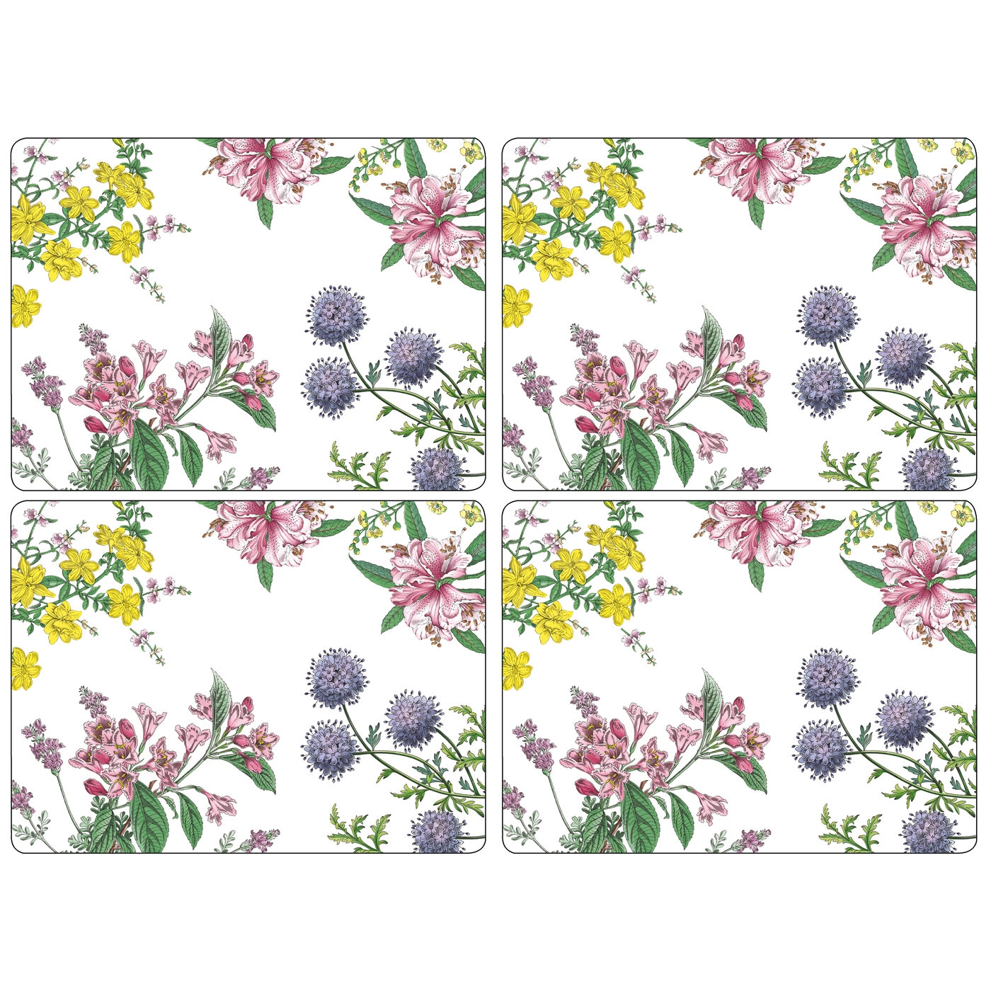 Pimpernel Stafford Blooms Placemats Set of 4 image number 0
