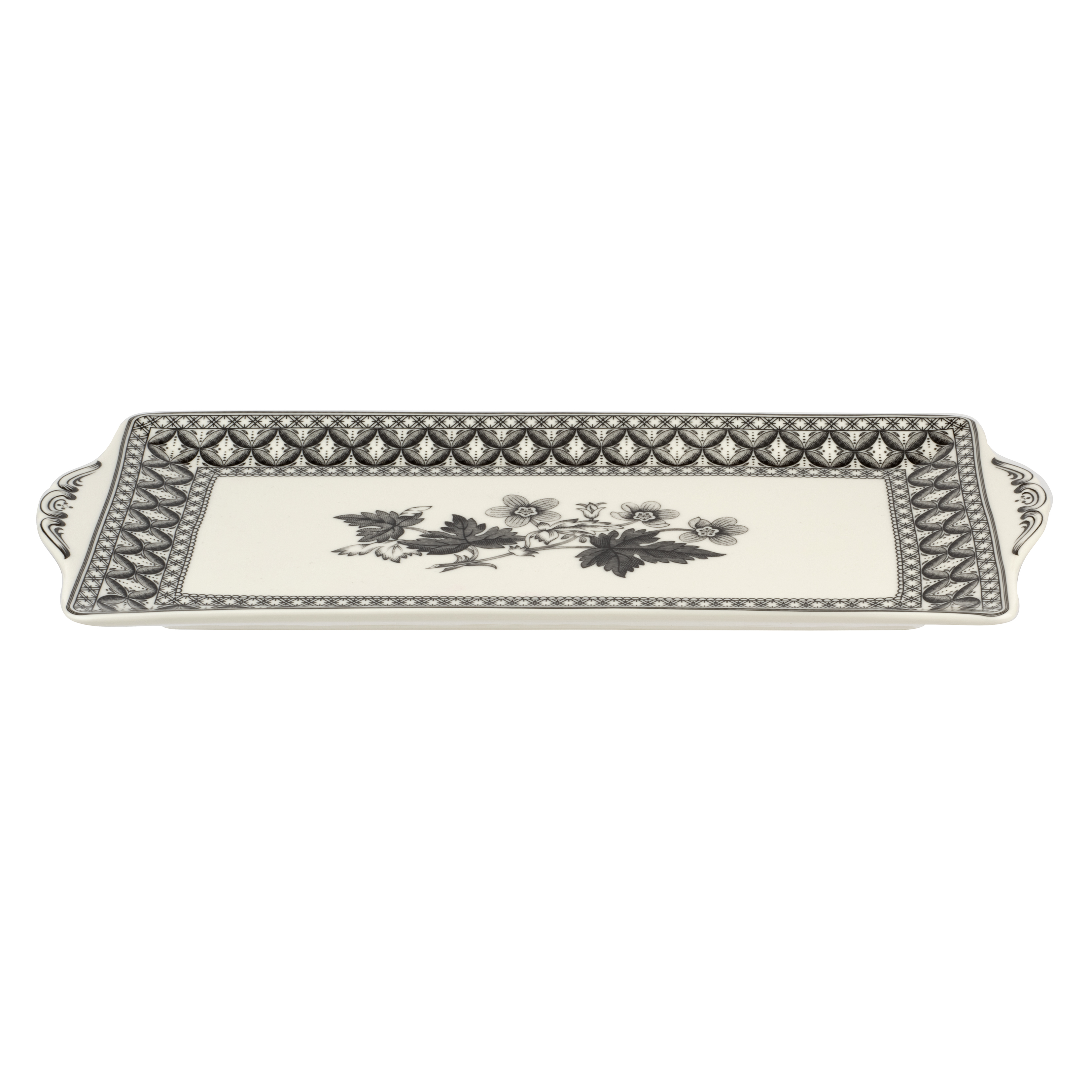 Spode Heritage 12 Inch Sandwich Tray (Geranium) image number 1