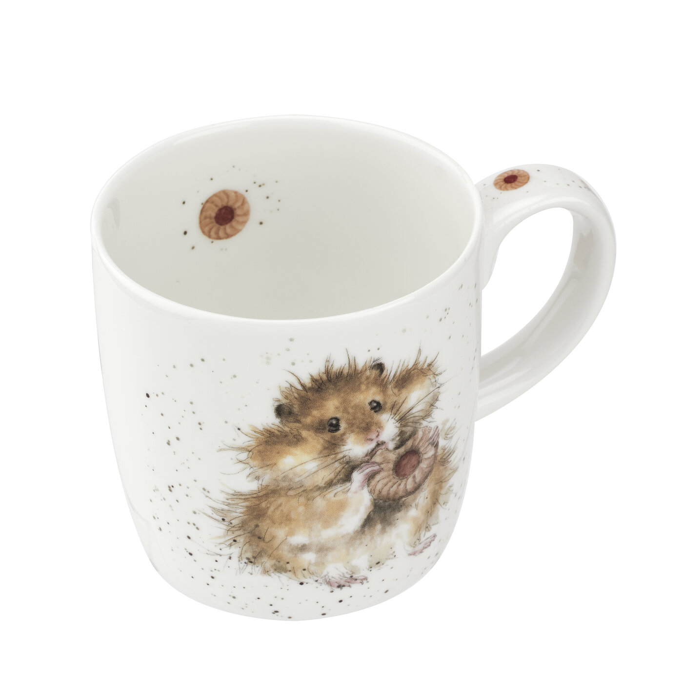Wrendale Designs 14 Ounce Mug Diet Starts Tomorrow (Hamster) image number 2