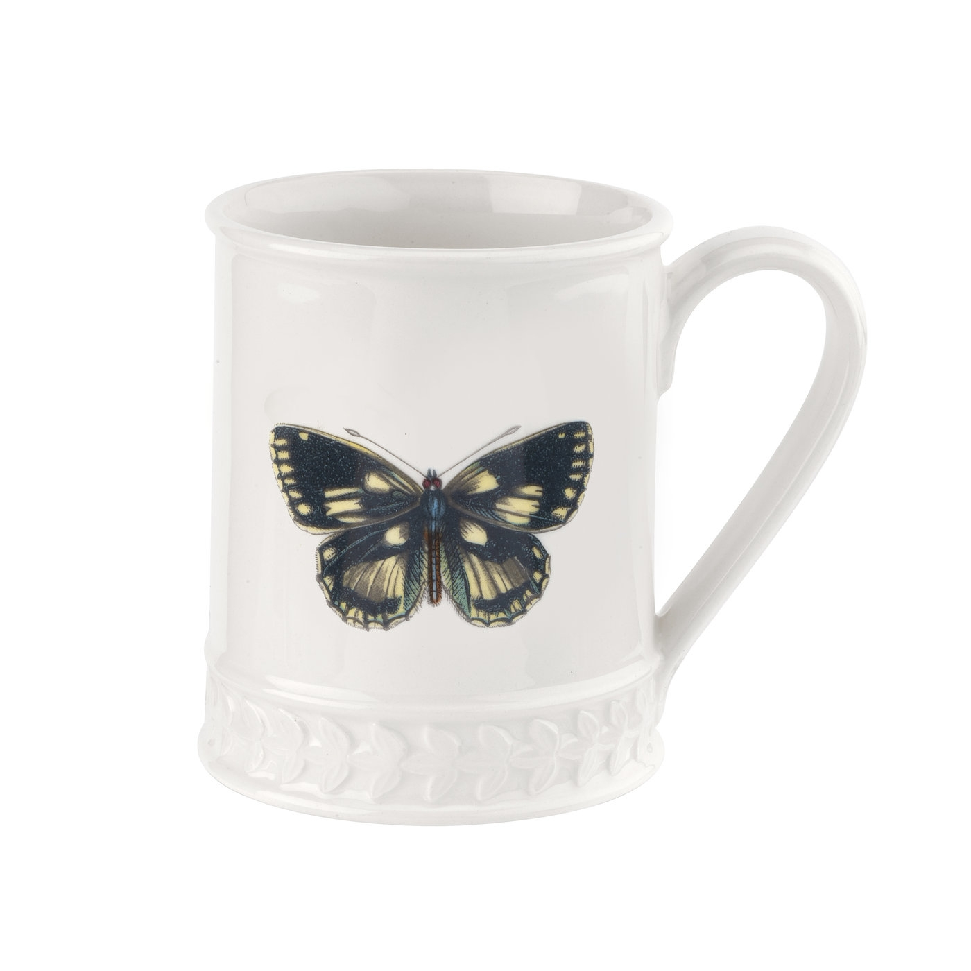 포트메리온 '보타닉 가든 하모니' 나비 머그 Portmeirion Botanic Garden Harmony Embossed 12 oz Tankard-Marbled Butterfly