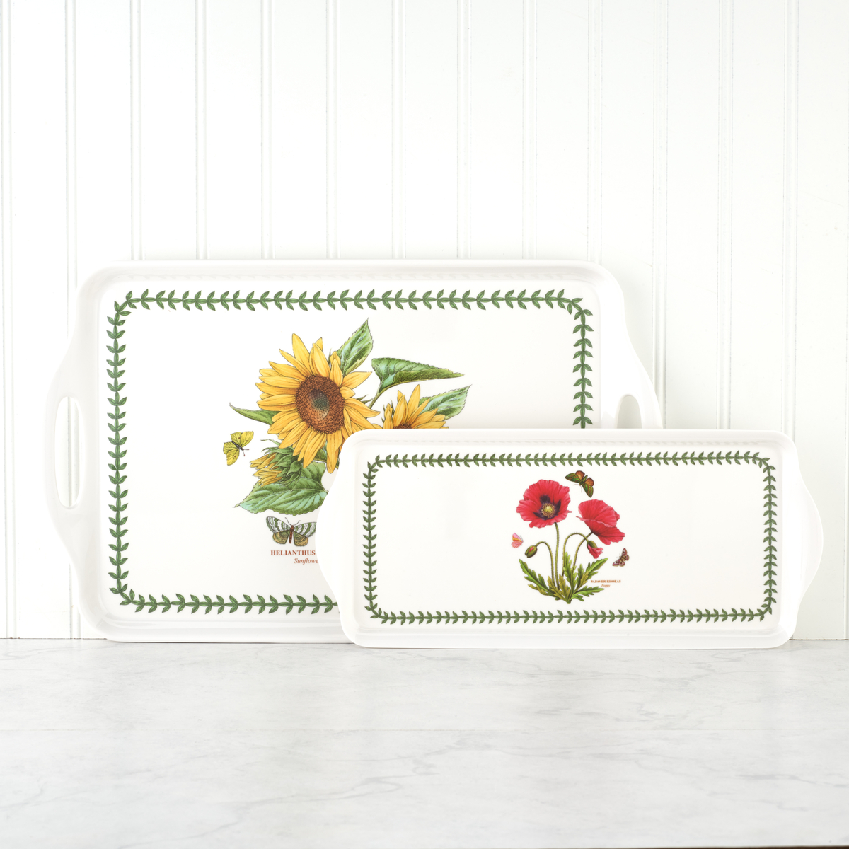 Pimpernel Botanic Garden Sunflower Large Melamine Handled Tray image number 3